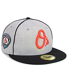 New Era Baltimore Orioles Stache 59FIFTY FITTED Cap