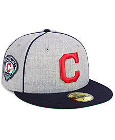New Era Cleveland Indians Stache 59FIFTY FITTED Cap