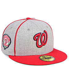 New Era Washington Nationals Stache 59FIFTY FITTED Cap