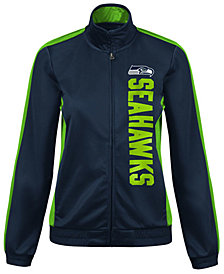 G-III Sports Women's Seattle Seahawks Backfield Track Jacket