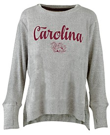 Pressbox Women's South Carolina Gamecocks Cuddle Knit Sweatshirt