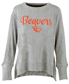 Pressbox Women's Oregon State Beavers Cuddle Knit Sweatshirt