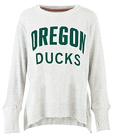 Pressbox Women's Oregon Ducks Cuddle Knit Sweatshirt