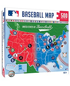 MLB 500 Piece Map Puzzle