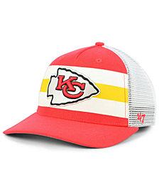 '47 Brand Kansas City Chiefs Team Stripe MVP Cap