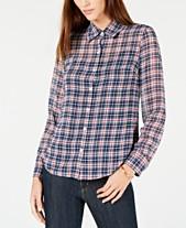 a6f0d870106c1 Plaid Shirts For Women  Shop Plaid Shirts For Women - Macy s