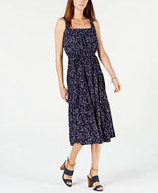 MICHAEL Michael Kors Printed Belted Dress
