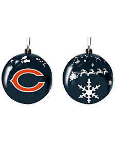 "Memory Company Chicago Bears 3"" Sled Glass Ball"
