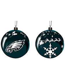 "Memory Company Philadelphia Eagles 3"" Sled Glass Ball"