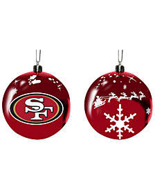 "Memory Company San Francisco 49ers 3"" Sled Glass Ball"