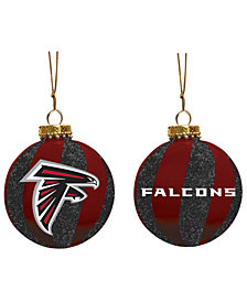 "Memory Company Atlanta Falcons 3"" Sparkle Glass Ball"