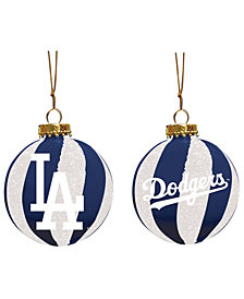 "Memory Company Los Angeles Dodgers 3"" Sparkle Glass Ball"