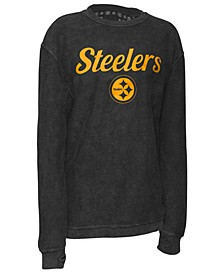 Women's Pittsburgh Steelers Comfy Cord Top