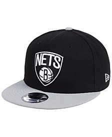 Brooklyn Nets Basic 2 Tone 9FIFTY Snapback Cap