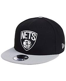 New Era Brooklyn Nets Basic 2 Tone 9FIFTY Snapback Cap