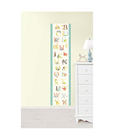 Abc Jungle Growth Chart Decal