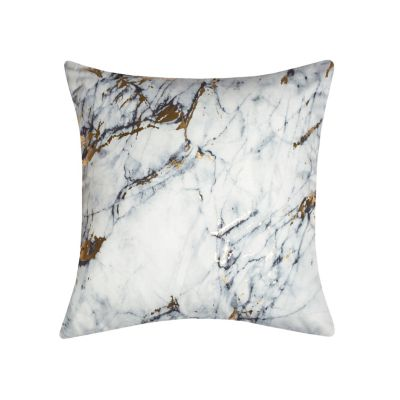 Precious Metals Collection Printed Marble Pillow