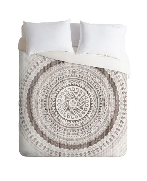 Deny Designs Iveta Abolina Winter Wheat Twin Duvet Set