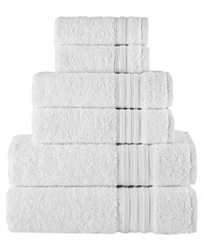 Turkish Spa Collection 6-Pc Cotton Towel Set