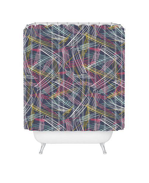 Deny Designs Heather Dutton Soho Midnight Shower Curtain