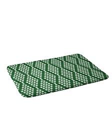 Deny Designs Holli Zollinger Beaded Triangle Bath Mat
