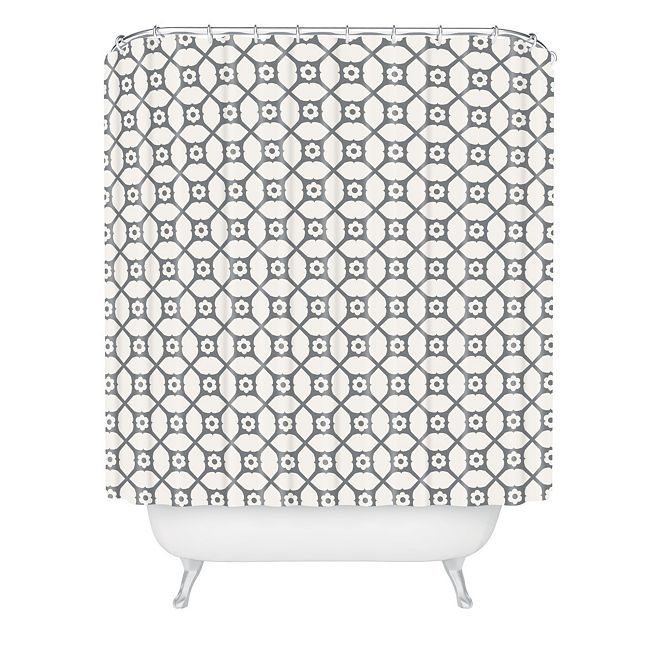 Deny Designs Holli Zollinger Trellis Shower Curtain