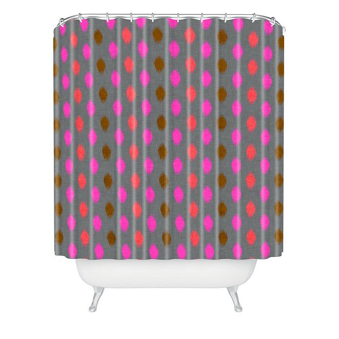 Deny Designs Holli Zollinger Calypso Dot Shower Curtain