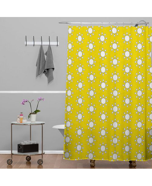 Deny Designs Holli Zollinger Little Suns Shower Curtain