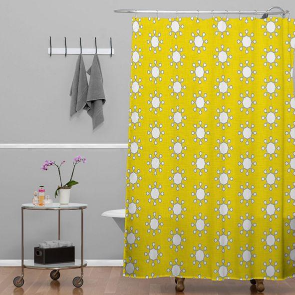 Deny Designs Holli Zollinger Little Suns Shower Curtain