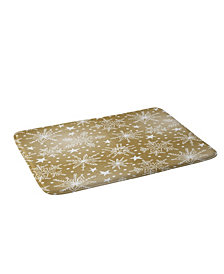 Deny Designs Heather Dutton Snow Squall Guilded Bath Mat