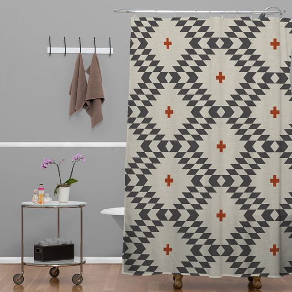 Deny Designs Holli Zollinger Native Natural Plus Shower Curtain