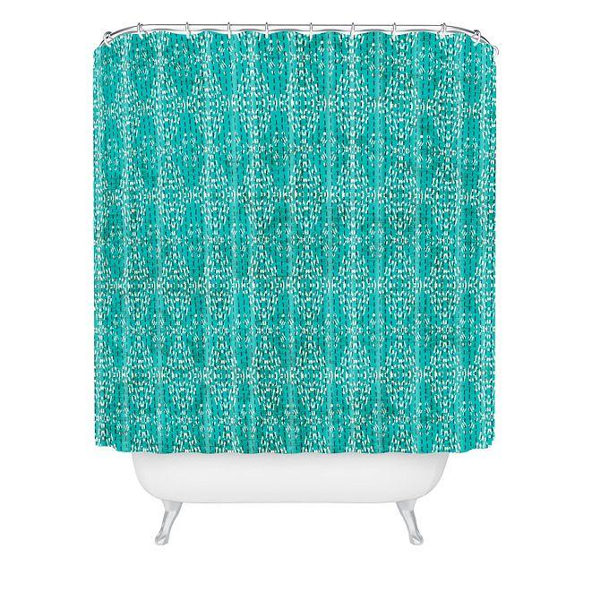 Deny Designs Holli Zollinger Kantha Tribal Shower Curtain