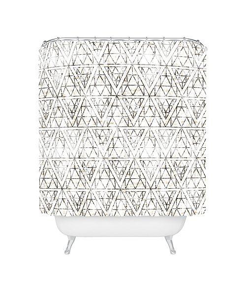 Deny Designs Holli Zollinger Rustic Diamond Shower Curtain