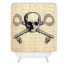 Heather Dutton Skeleton Key Shower Curtain