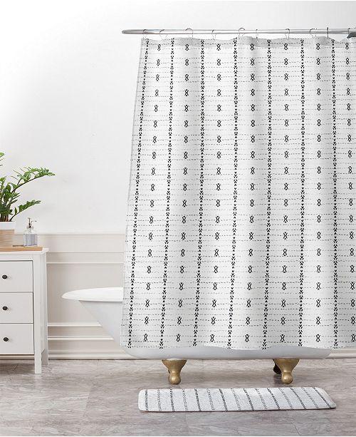 Deny Designs Holli Zollinger French Linen Tribal Stripe Bath Mat