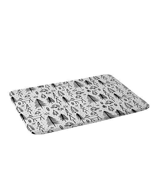Deny Designs Heather Dutton Winter Wonderland White Bath Mat