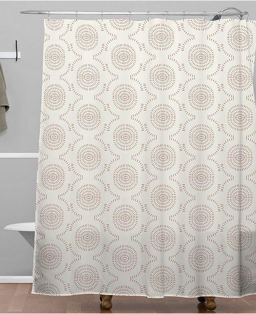Deny Designs Holli Zollinger Wildflower Geo Shower Curtain