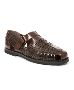 Mens Retro Shoes | Vintage Shoes & Boots Deer Stags Mens Bamboo Fisherman Sandal Mens Shoes $63.00 AT vintagedancer.com