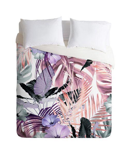 Deny Designs Iveta Abolina Tropical Punch Twin Duvet Set