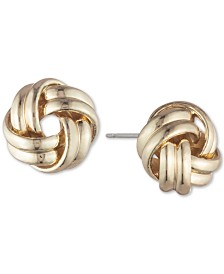 Lauren Ralph Lauren Knot Stud Earrings