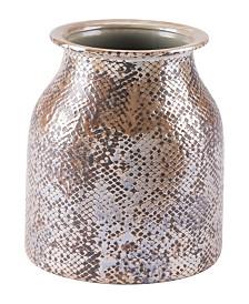 Zuo Snake Skin Short Vase