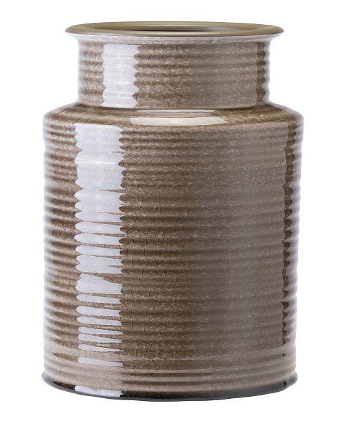 Zuo Striped Gray Bottle