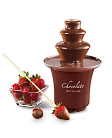 Nostalgia Cff300 3-Tier 1-2-Pound Chocolate Fondue Fountain