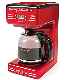 Nostalgia Retro 12-Cup Coffee Maker