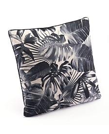 Zuo Black Jungle Pillow