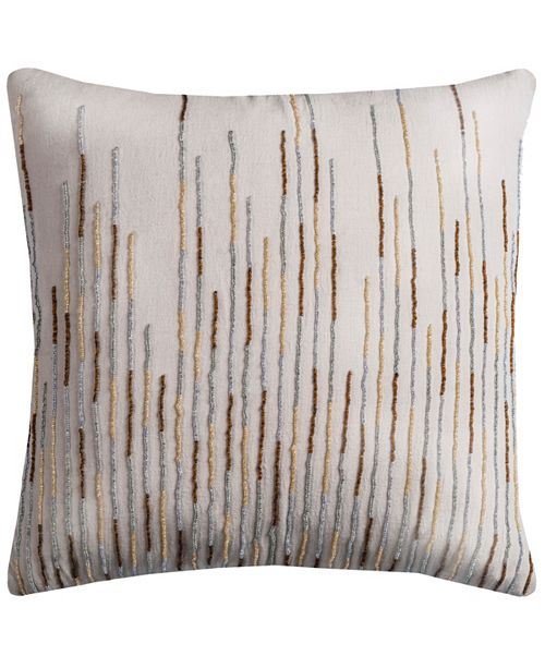 "Rizzy Home 18"" x 18"" Botanical Petals Pillow Collection"