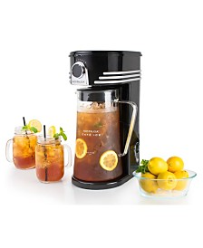 Nostalgia Café' Ice 3-Quart Iced Coffee And Tea Brewing System