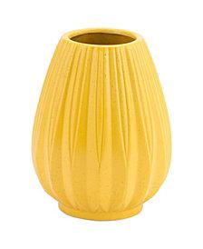 Acacia Sm Vase Yellow