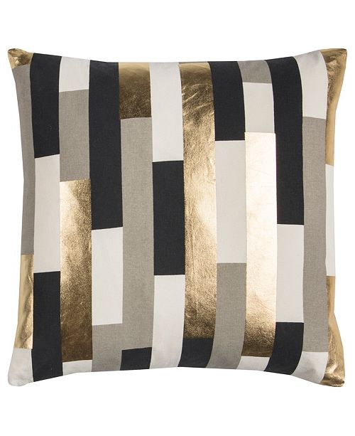 "Rizzy Home Rachel Kate 20"" x 20"" Striped Pillow Collection"