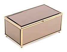 Brown Mirror Box Lg Brown